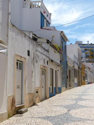 Algarve Lagos Altstadt Gasse