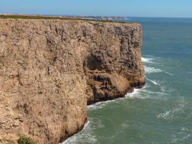 Algarve Cabo Sao Vicente Klippen Küste