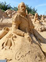 Algarve Pera Sand City Fiesa Sandskulpturen