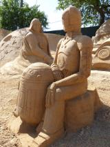 Algarve Pera Sand City Fiesa Sandskulpturen Star Wars