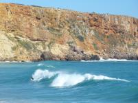Algarve Sagres Strand Surfen Wellen