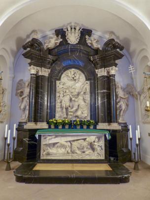 Fulda Dom Krypta Bonifatius Grab