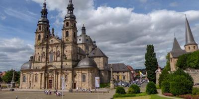 Fulda Dom Michaelskirche Barockstadt