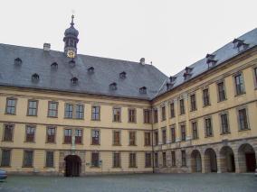 Fulda Stadtschloss Schloss Hof
