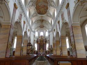 Fulda Barockviertel Kirche St.Blasius Altar