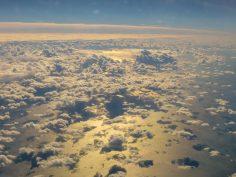 Flugzeug Etihad Flug nach Abu Dhabi Fensterplatz