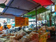 Thailand Bangok Straßen Marktstände