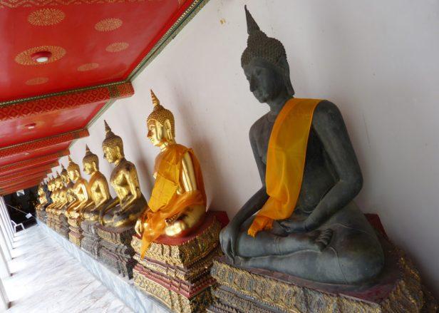Thailand Bangkok Wat Pho Tempel Buddha