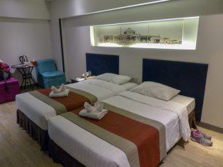 Bangkok Nouvo City Hotel Zimmer