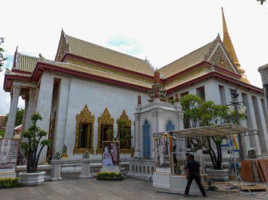 Thailand Bangkok Tempel Wat Bowonniwet