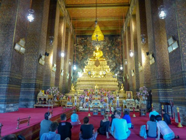 Thailand Bangkok Tempel Wat Pho