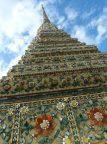 Thailand Bangkok Tempel Wat Pho Chedi