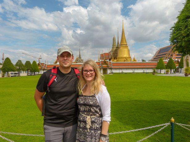 Thailand Bangkok Königspalast Königstempel Wat Phra Kaeo