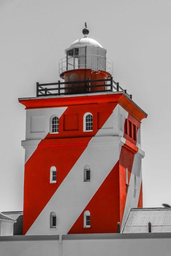 Südafrika Kapstadt Greenpoint Green Point Leuchtturm