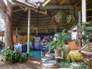 Thailand River Kwai Burmabahn Dschungel Restaurant