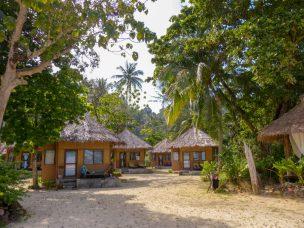 Thailand Koh Ngai Koh Hai Insel Andamanensee Inselparadies Strand Meer Mayalay Beach Resort Bungalow Strandhütte