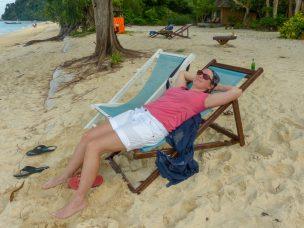 Thailand Koh Ngai Koh Hai Insel Andamanensee Inselparadies Strand Meer Sonnen