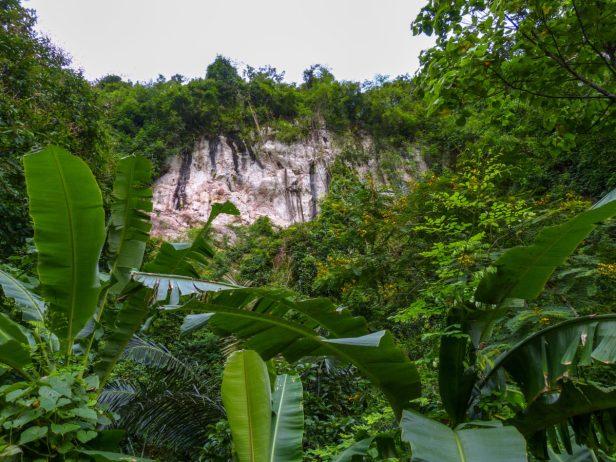 Thailand Khao Sok Nationalpark Dschungel Anurak Community Lodge Dschungelpfad Wildnis Kalkfelsen