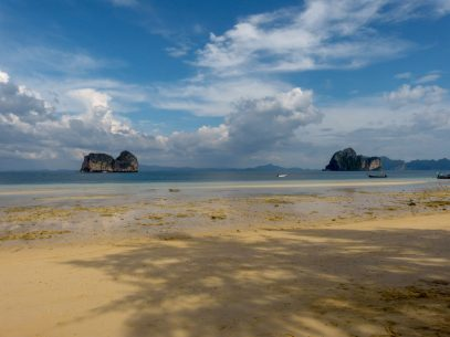 Thailand Koh Ngai Koh Hai Insel Andamanensee Inselparadies Strand Meer Ebbe