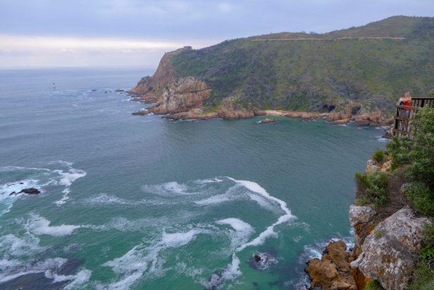 Südafrika South Africa Garden Route Knysna Heads Eastern Heads Lagune Meer Ausblick
