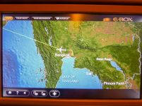 Thailand Bangkok Flugzeug