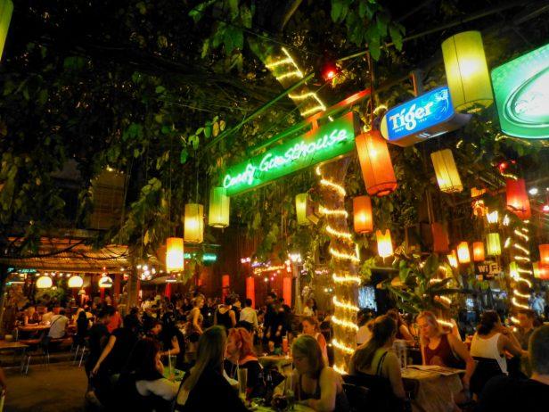Thailand Bangkok Rambuttri Road Lampions