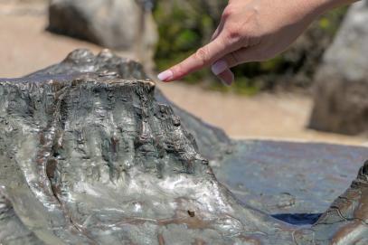 Südafrika Kapstadt Cape Town Tafelberg Modell Table Mountain