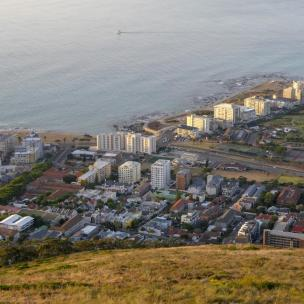 Südafrika Kapstadt Cape Town Sunset Tour Signal Hill Abendsonne Green Point Aussicht