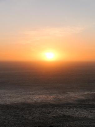 Südafrika South Africa Kap Halbinsel Chapman's Peak Drive Küstenstraße Meer Sonnenuntergang