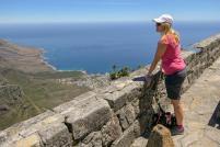 Südafrika Kapstadt Cape Town Tafelberg Table Mountain Ausblick Aussicht Zwölf Apostel