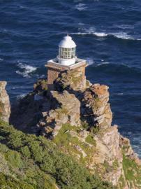 Südafrika South Africa Kap Halbinsel False Bay Cape Point Nationalpark Kapspitze Neuer Leuchtturm Ausblick