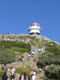 Südafrika South Africa Kap Halbinsel False Bay Cape Point Nationalpark Kap der Guten Hoffnung Cape of Good Hope Alter Leuchtturm
