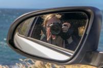 Südafrika South Africa Kap Halbinsel False Bay Küste Kamera Autofahren