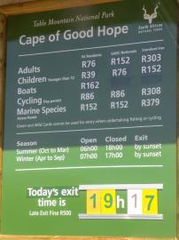 Südafrika South Africa Kap Halbinsel Cape Point Nationalpark