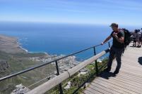 Südafrika Kapstadt Cape Town Tafelberg Table Mountain Dassie Walk Ausblick Aussicht