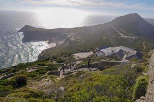 Südafrika South Africa Kap Halbinsel False Bay Cape Point Nationalpark Kap der Guten Hoffnung Cape of Good Hope Ausblick