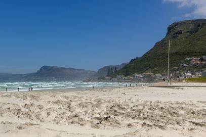 Südafrika South Africa Kap Halbinsel Muizenberg Strand