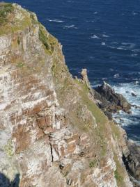 Südafrika South Africa Kap Halbinsel False Bay Cape Point Nationalpark steile Felsen