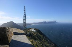 Südafrika South Africa Kap Halbinsel False Bay Cape Point Nationalpark Alter Leuchtturm Ausblick