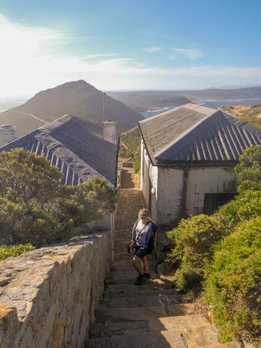 Südafrika South Africa Kap Halbinsel False Bay Cape Point Nationalpark Alter Leuchtturm Weg