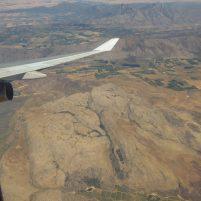 Südafrika Flugzeug British Airway Boeing 747 Flug Afrika