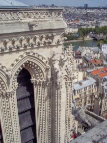 Frankreich Paris Notre Dame de Paris Kathedrale Glockenturm Turm Turmbesteigung Turmspitze Südturm Nordturm