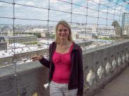 Frankreich Paris Notre Dame de Paris Kathedrale Glockenturm Turm Turmbesteigung Galerie Ausblick