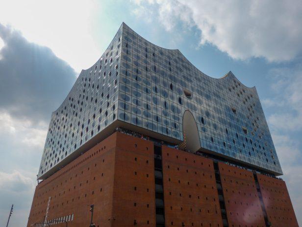Deutschland Hamburg Hafen Speicherstadt Elbphilharmonie Elphie Plaza Aussicht