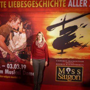 Musical Miss Saigon englische Tour Musicaldome Köln