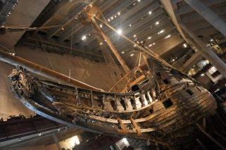 Schweden Stockholm Vasa Museum Schiff restauriert