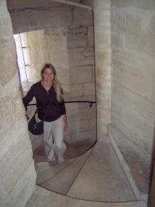 Frankreich Paris Notre Dame de Paris Kathedrale Glockenturm Turm Turmbesteigung Wendeltreppe