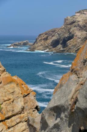 Südafrika South Africa Kap Mossel Bay St Blaize Trail Wanderpfad Küste Felsen Meer