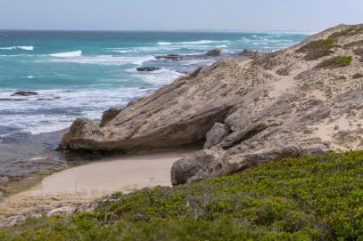 Südafrika South Africa Kap De Hoop Nature Reserve Naturreservat Strand Meer Felsen