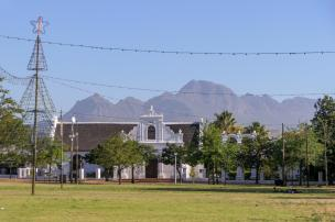 Südafrika South Africa Weinregion Winelands Stellenbosch Innenstadt